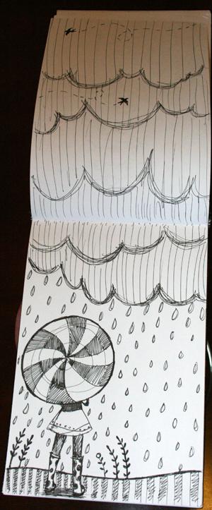 Sketchbookswaprain